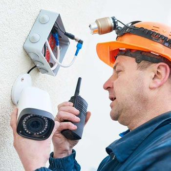 Caerphilly County Borough business cctv system repairs